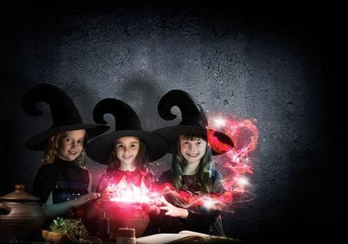 音乐童话绘本:孩子与魔术
