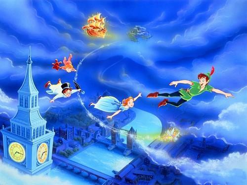 世界著名童话故事:彼得潘