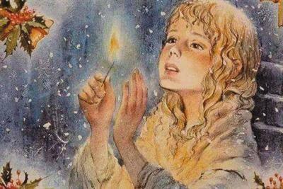 世界著名童话故事:卖火柴的小女孩