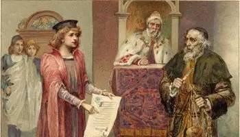 世界著名童话故事:威尼斯商人