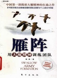 标题:雁阵:用大雁精神训练团队  出版社: 东方出版社  作者:殷源